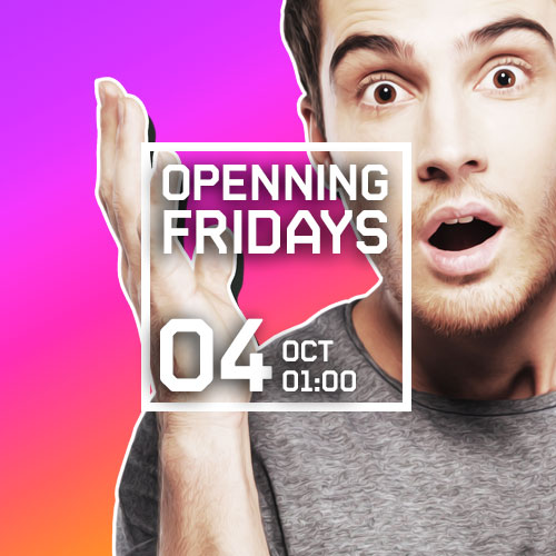 OPENNING FRIDAYS amb WARSAW