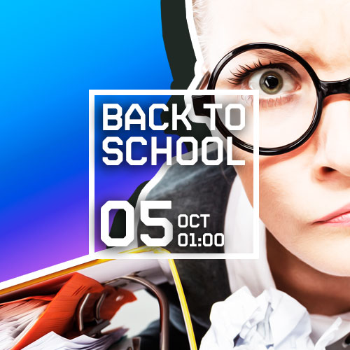 BACK TO SCHOOL amb WARSAW + BUFF BAY