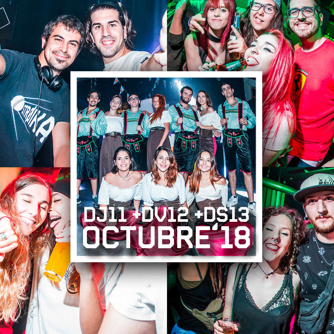 DJ11 + DV12 + DS13 OCT'18 // STROIKA SESSIONS + OCTOBER FEST