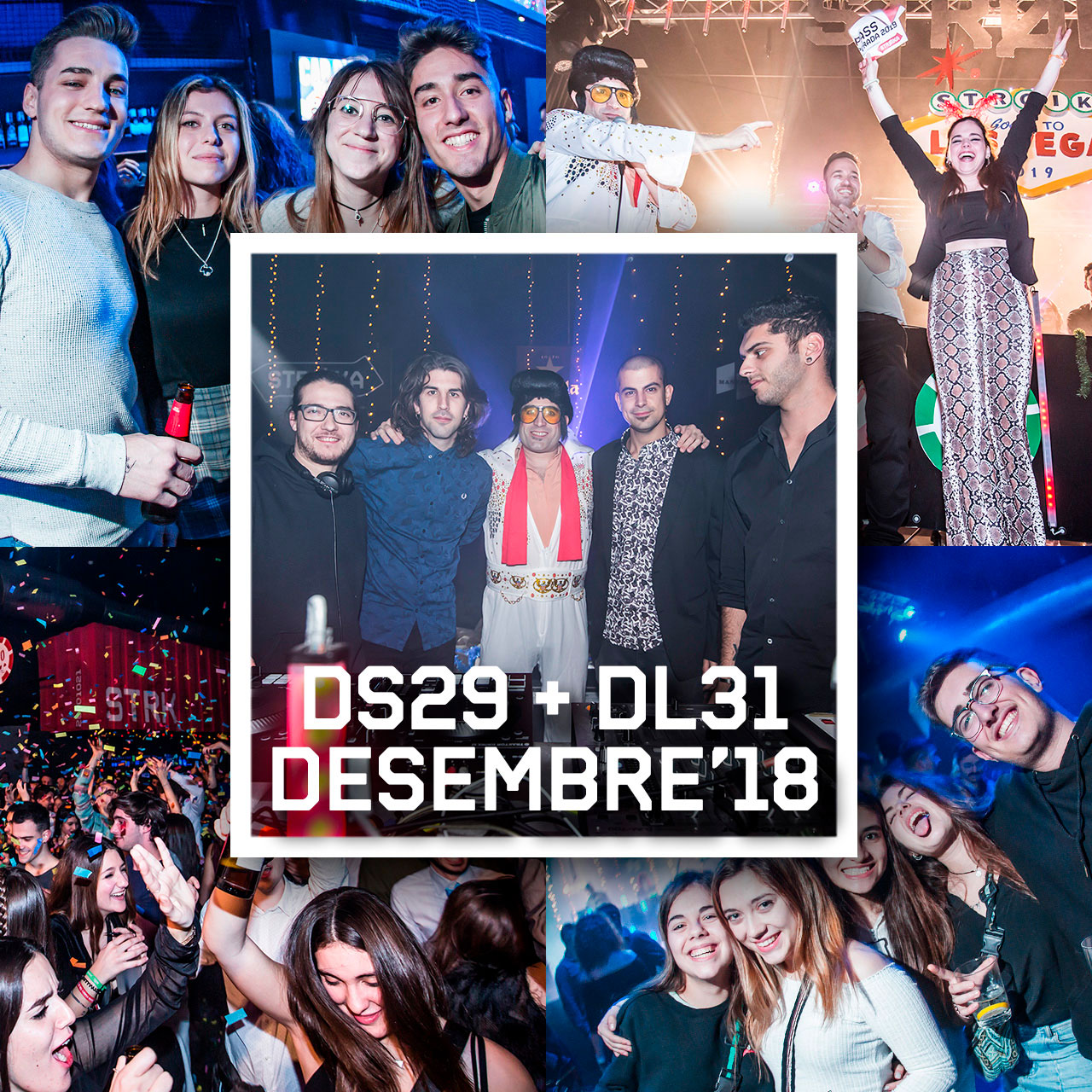 DS29 +DL31 DES'18 // SESSIONS + CAP D'ANY
