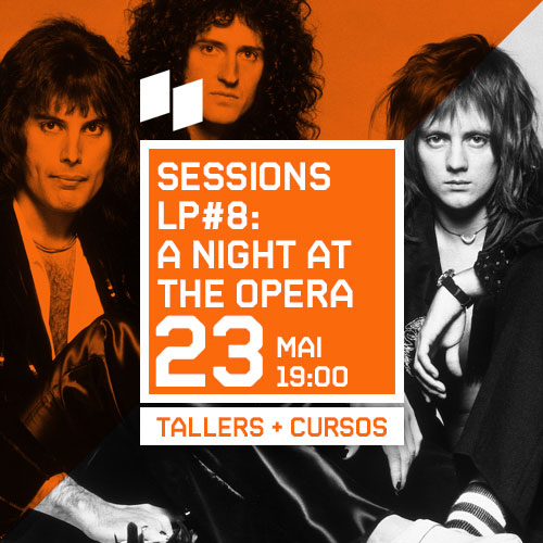 SESSIONS LP #8: A NIGHT AT THE OPERA DELS QUEEN
